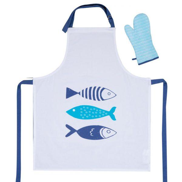 ΣΕΤ 2TMX. ΠΟΔΙΑ & ΓΑΝΤΙ ΚΟΥΖΙΝΑΣ FISHES WAY NEF-NEF