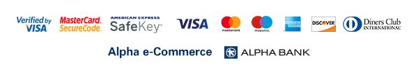 Alpha Bank Cards Logos