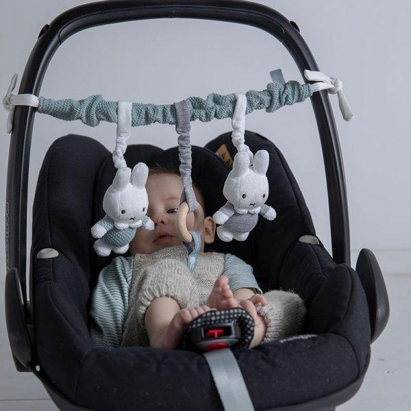 BABY OLIVER Παιχνίδι Δραστηριότητας καροτσιού Miffy Mint
