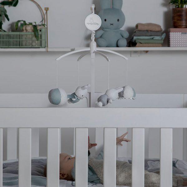 BABY OLIVER Μουσικό Mobile Miffy Mint
