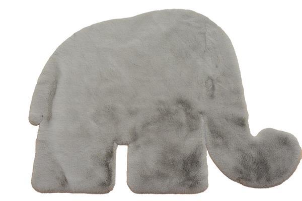 ΧΑΛΙ PUFFY FC25 TAUPE NEW ELEPHANT ANTISLIP - 120Χ150  NewPlan
